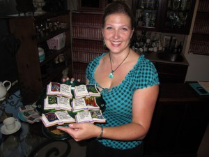 Britta and her Beauty & the Beast Bookookies