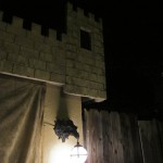 Garage Tower and Dragon Sconce