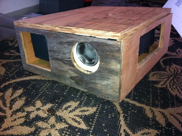 Projector Box for Tripod