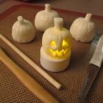 Sculpting the Mini Fondant Jack O'Lanterns