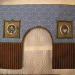 "Haunted Mansion Spooky Portraits Printed on Frosting Sheets with Royal Icing ""Carved"" Frame"