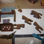 Assembling the Gingerbread Furniture & Accessories