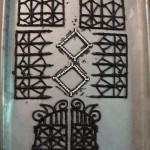 Black Chocolate Gate, Railings & Trim for Diamond Windows