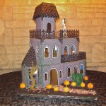 Ghoulish Gingerbread Haunted House Full View
