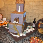 Ghoulish Gingbread Haunted House with Fog