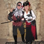 Sean the Executioner with Pirate Laura