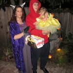 Big Bad Wolf, Little Red Robert Hood and Flower Fairy Emma