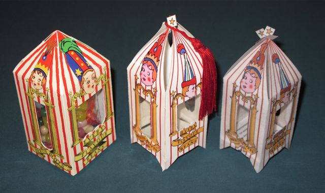 Theme Park, Papercraft & Rice Paper Bertie Botts