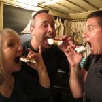 Sheila, Glen & Ruth's s'mores!