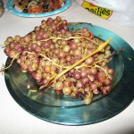 Roasted Homegrown Grapes