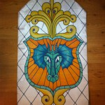 Dragon Crest Stained Glass