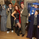The Doctor Who Crew taken by Cat