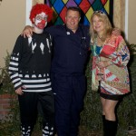 Scary Sean the Clown, Dr. Ken & Groovy Laura taken by Cat