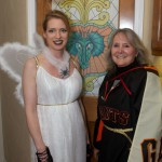 Dark Angel Lilly & Giants Superfan Sheila taken by Cat