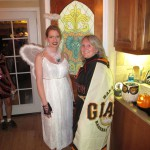 Dark Angel Lilly and Giants Superfan Sheila