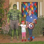 The Avengers - Hulk, Spidey & Captain Rosie America