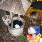 Everyone loved the well, even the little ones!