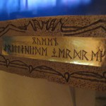 The First Queen's name in old Viking runes