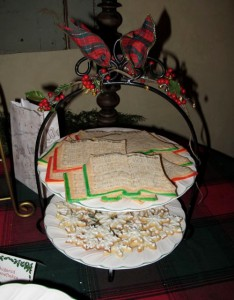 Caroling Cookies