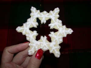 Sugared Snowflake