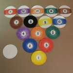 Finished Pool Balls