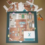 Custom Clue Game Board 2013