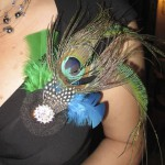 Gorgeous Peacock brooch!