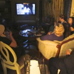 About 2/3rds of the guests wanted to watch the movie while others stayed chatting in the Conservatory...