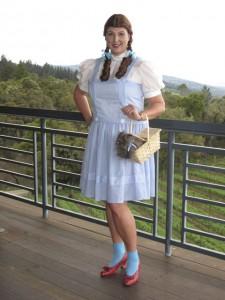 Dorothy in the Santa Cruz Mountains