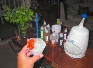 Make Your Own Snow Cone