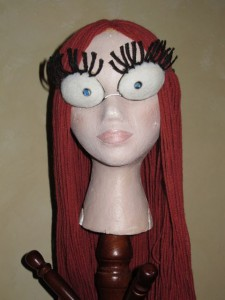Improved Sally Eyes with 19-year-old yarn wig