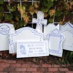 8 new gravestones