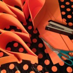 Fun Foam Orange Bow