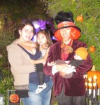 Mad Hatter Jeff and family
