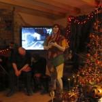 Sally Britta leading the Spooky Music Quiz