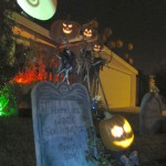 Only some of the front yard display