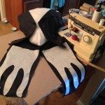 Jack's torso, jacket and tails under construction