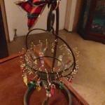 Handmade Christmas wine charms