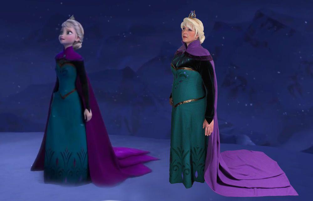 Frozen Coloring Pages Elsa Coronation : Frozen coloring pages elsa