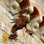 Reclaimed metal dragon (by Scary Jerry)