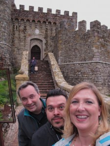 The Eerie Elegance Scream Team at Castello di Amorosa in Napa