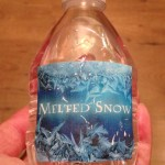 Tiny bottle of Melted Snow...can you see the crystal glitter?