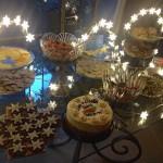 Glowing Food Table (by Debi)