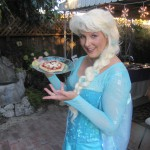 Elsa's ice magic must work to make pizzas, too!