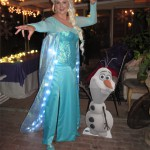 Elsa and Olaf Photoshoot