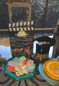Movie Night Centerpiece & Kite Cookies