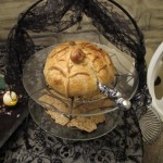 Spiderweb Brie En Croute for Halloween