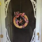 Quickie door wreath