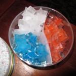 Tricolor Ice Stars
