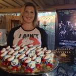 Birthday Girl with Two Dozen Stay Puft S'mores